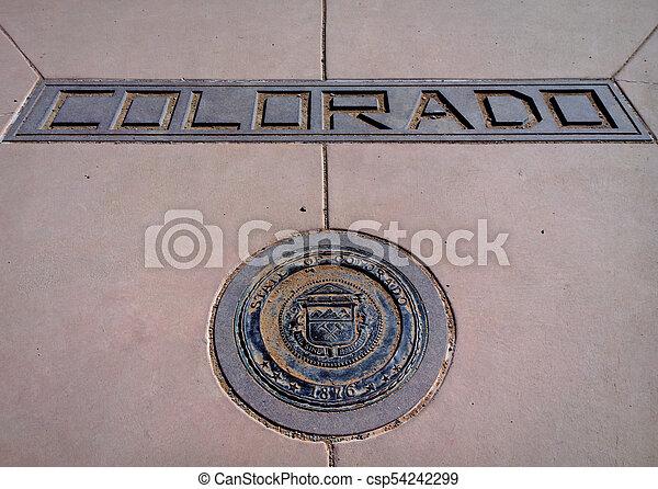 Corner of Colorado - csp54242299