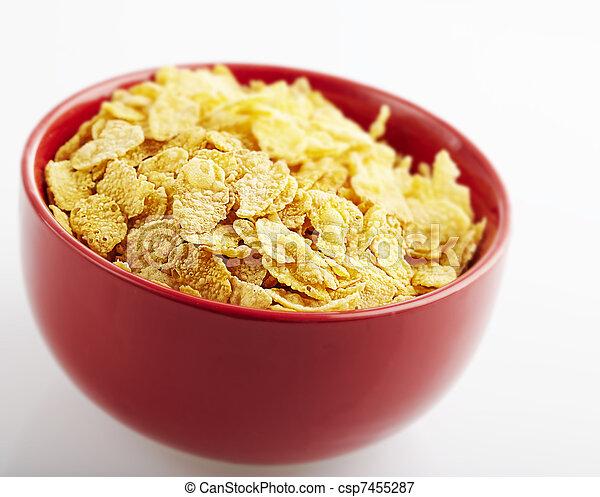 cornflakes bowl - csp7455287