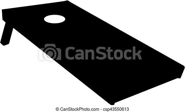 cornhole, tábua - csp43550613