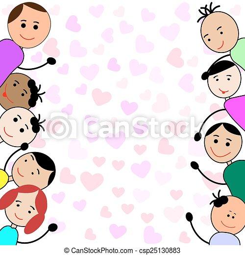 cornice, bambini - csp25130883