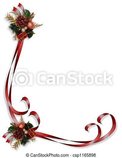 Cornice, bordo, natale. Natale, cornice, illustrazione ...
