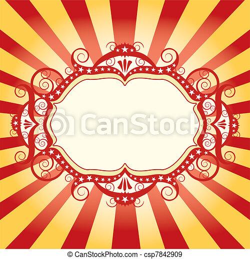 cornice, circo, aviatore - csp7842909