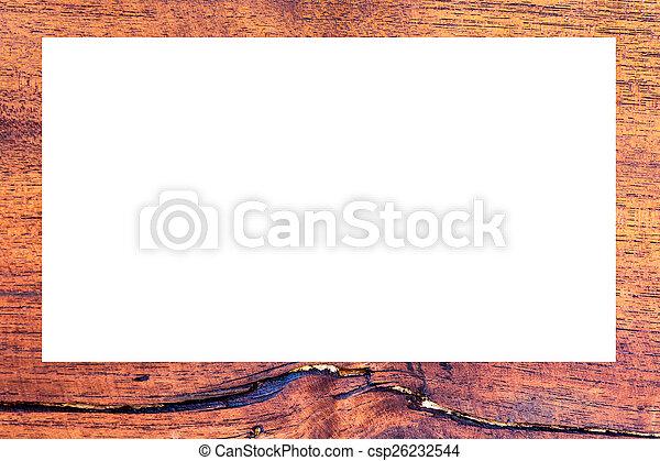 cornice legno - csp26232544