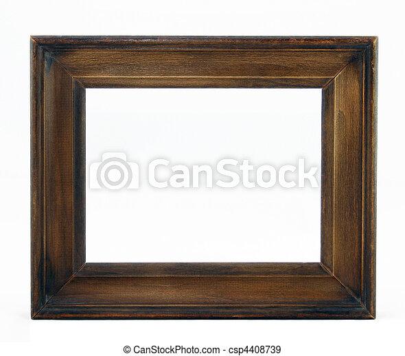 cornice legno - csp4408739