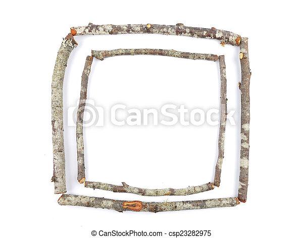 cornice, legno - csp23282975