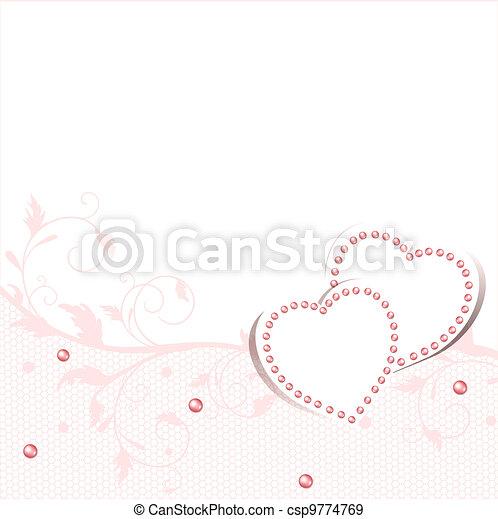 cornice, matrimonio, amore - csp9774769