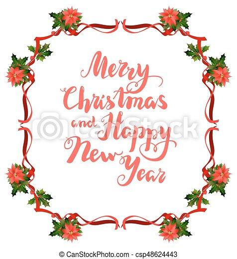 Disegni Di Natale Vettoriali.Cornice Natale Stella Di Natale