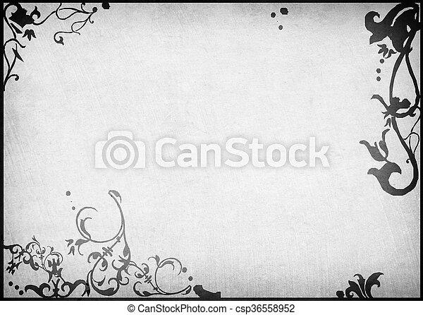 cornice, sfondi - csp36558952
