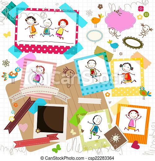 Cornici Per Bambini.Cornici Foto Bambini