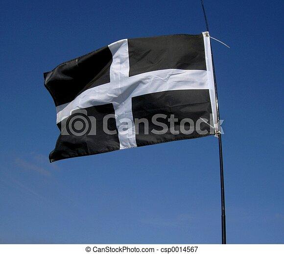 Cornish Flag - csp0014567