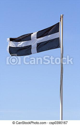 Cornish Flag - csp0390167