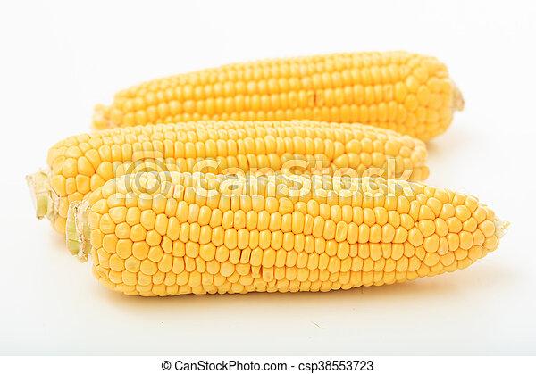corns on a white background - csp38553723