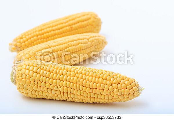 corns on a white background - csp38553733