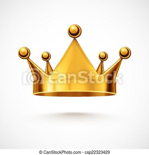 coroa, isolado - csp22323429