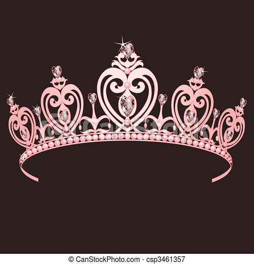 Princesa Corona - csp3461357