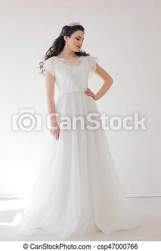 precio inmejorable venta al por mayor calidad perfecta corona, vestido blanco, princesa, novia