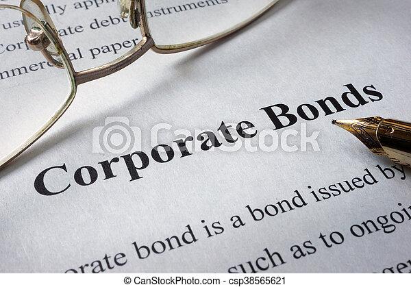 corporate bonds - csp38565621