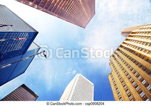 Corporate buildings - csp0908204