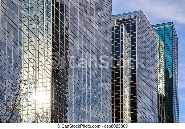 Corporate buildings - csp8023803