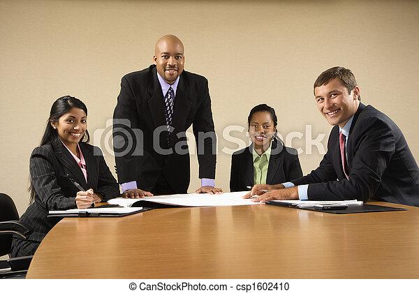 Corporate business. - csp1602410