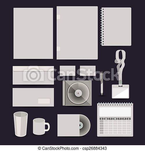 Corporate Identity design - csp26884343