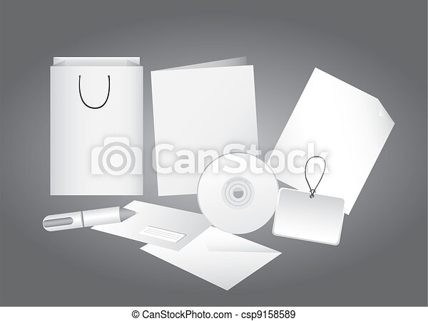 corporate identity - csp9158589