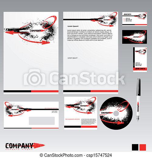 Corporate Identity - csp15747524