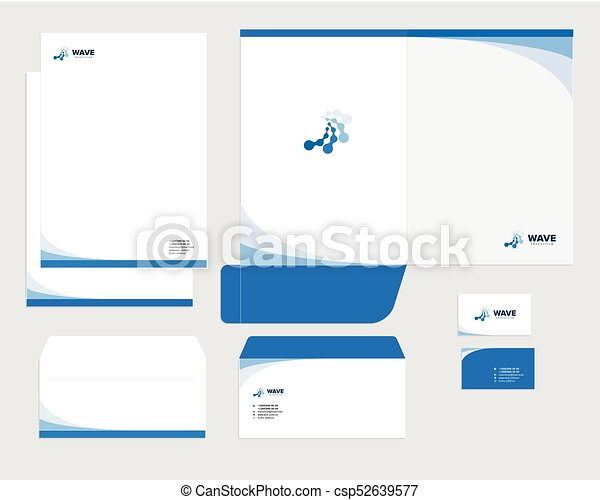 Corporate identity template design visual marketing brand business corporate identity template design visual marketing brand business identity set card letterhead envelope folder style company vector illustration fbccfo Image collections