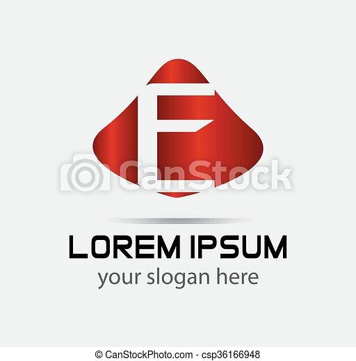Corporate Logo E Letter company  - csp36166948