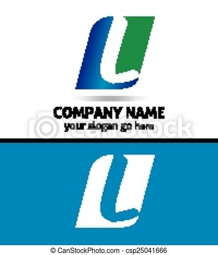 Corporate Logo L Letter company  - csp25041666