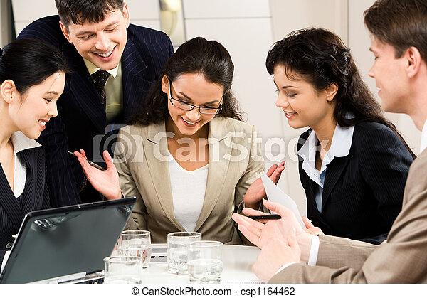 corporativo, riunione - csp1164462