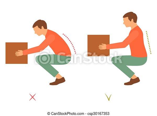 correct posture - csp30167353