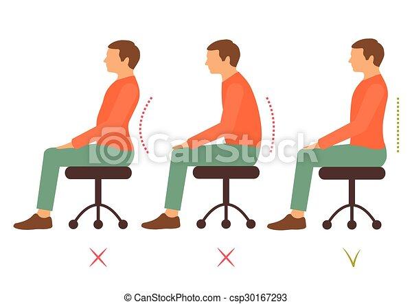 correct posture - csp30167293