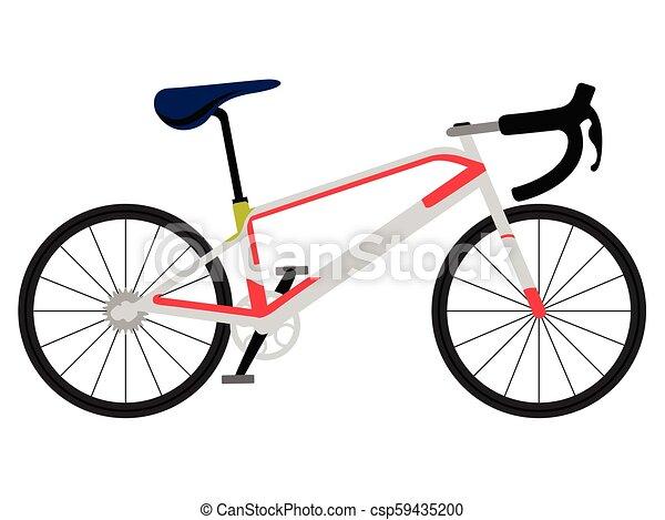 Correndo Bicicletta Icona