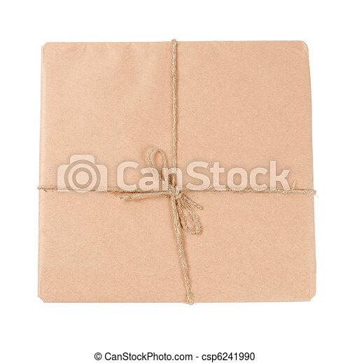 correo, sobre blanco, aislado - csp6241990