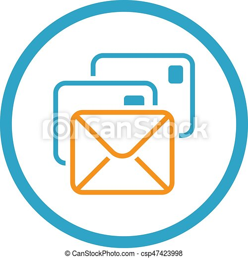 5814283ec9d84d correspondência, apartamento, icon., design.