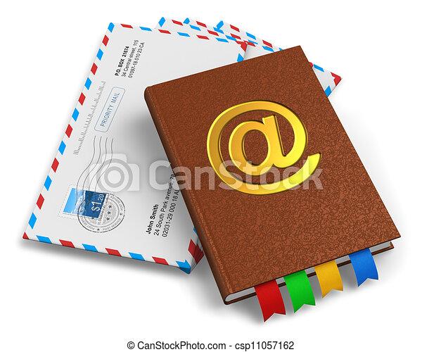 47280ee3bdb055 correspondência, correio, conceito, e-mail