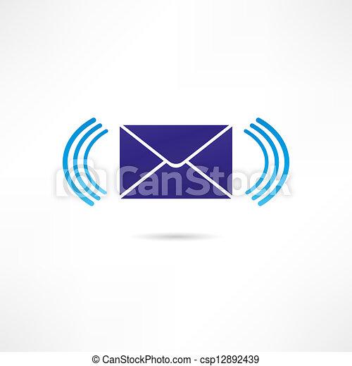 Correspondence icon - csp12892439