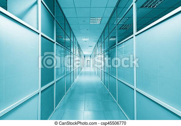 corridor., vue - csp45506770