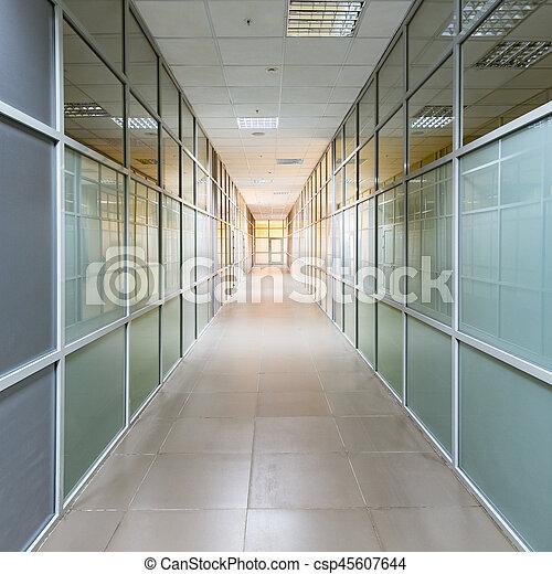 corridor., vue - csp45607644