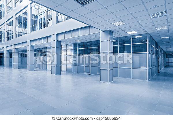 corridor., vue - csp45885634
