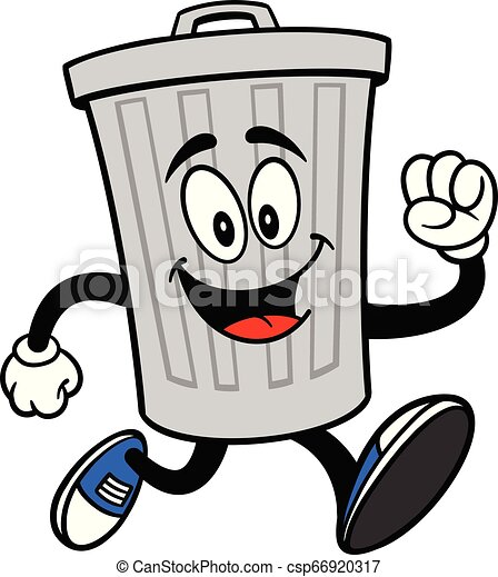 La basura puede mascota correr - csp66920317