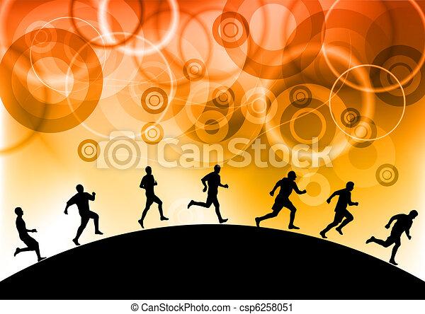 Corriendo - csp6258051