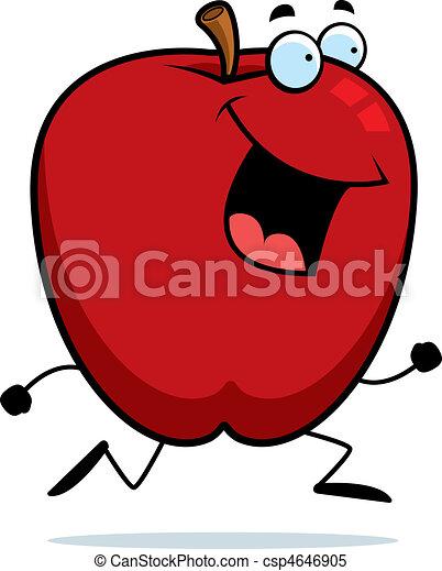 Manzana funcionando - csp4646905