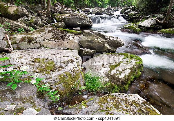 Río de montaña - csp4041891