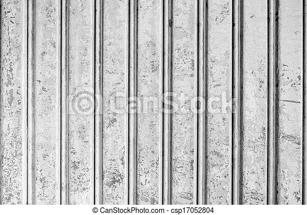Metal corrugado de grunge - csp17052804