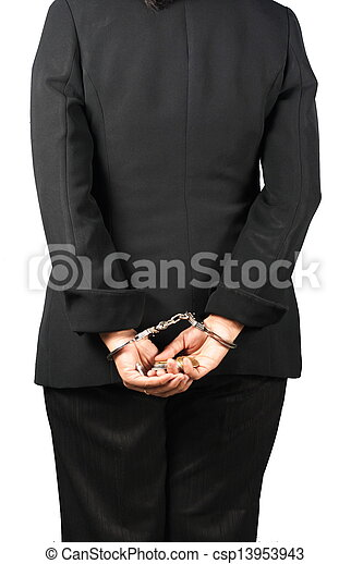Corrupted businessman - csp13953943