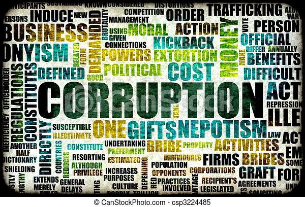 corruptie - csp3224485