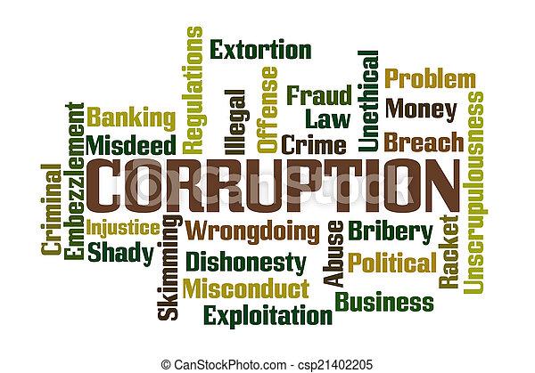corruptie - csp21402205
