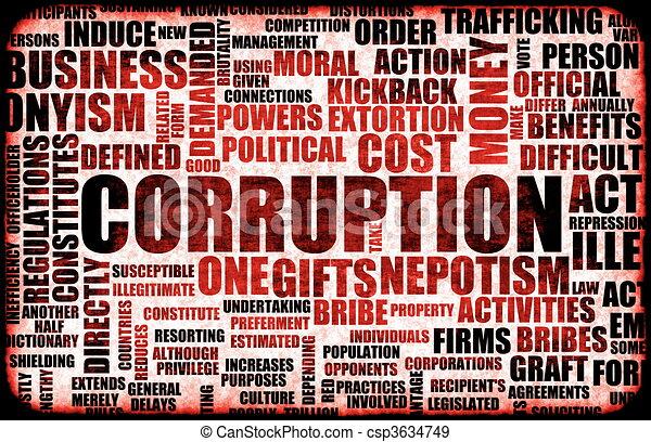 Corruption - csp3634749